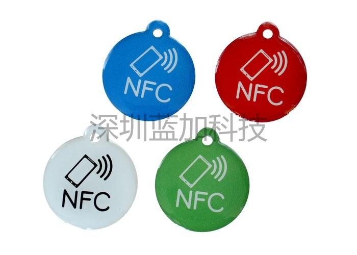 金宝博娱乐_NFC水晶滴胶卡
